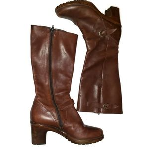 Dansko Nevada Brown Leather Boots